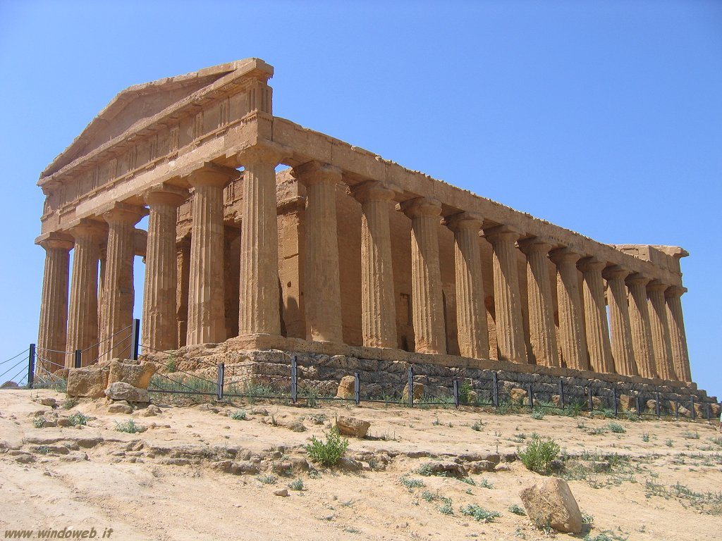 Valley of the temples in sicily an italian world heritage for Ville in italia