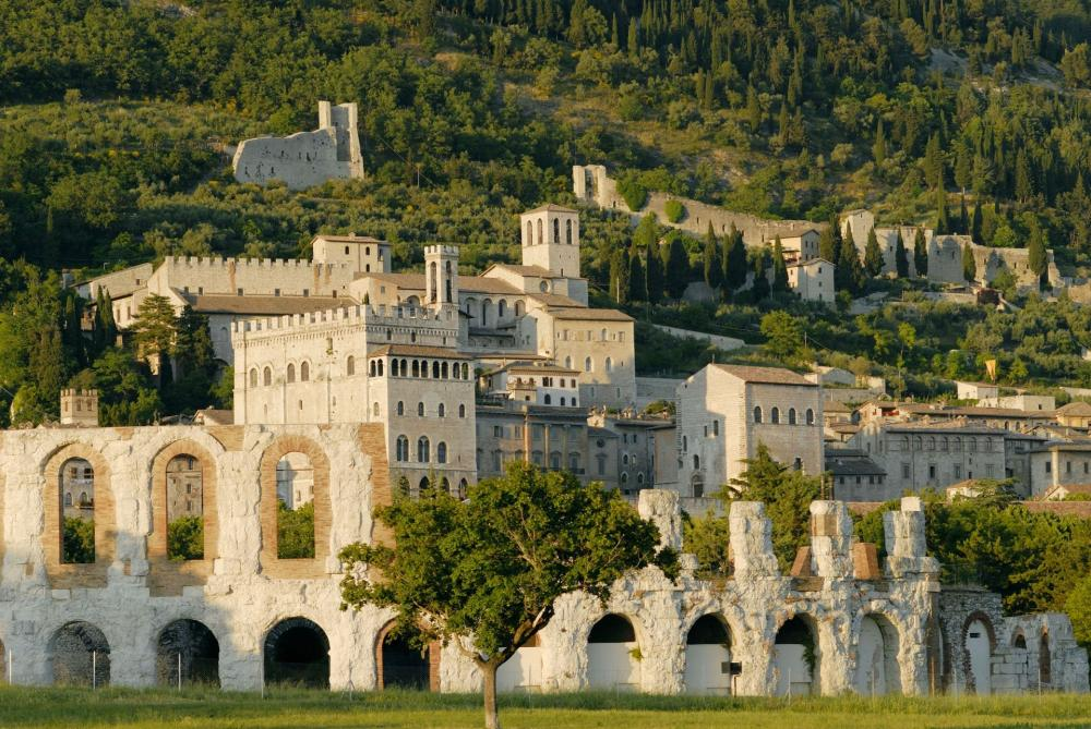 Roman-theater-Gubbio-Umbria