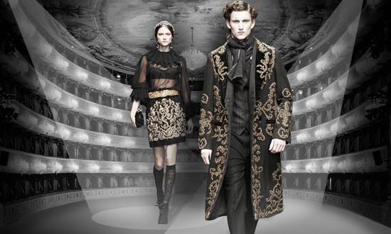 Dolce & Gabbana at the Teatro la Scala