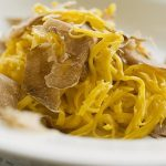 Alba truffle recipes: Tajarin, a type of Italian truffle pasta