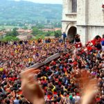 Gubbio, improbable and exciting