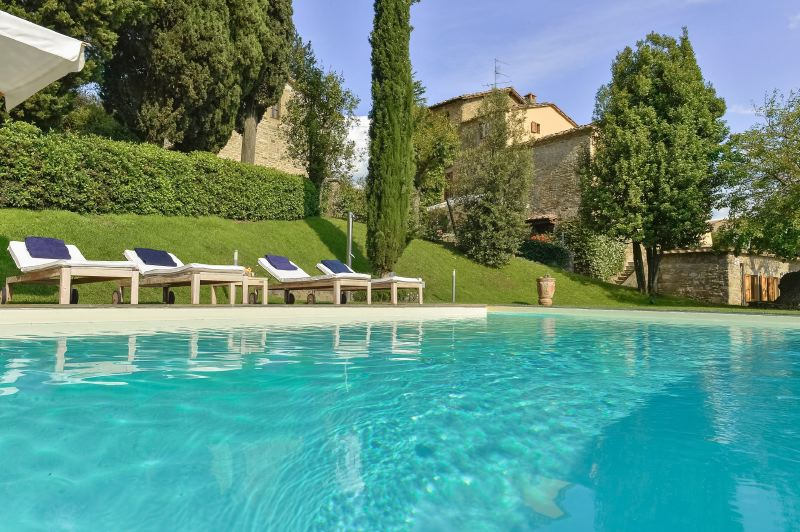Villa Rentals in Donnini : Florence & Tuscany - Italy: Colle a Pitiana