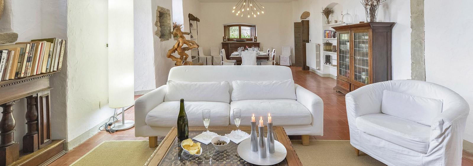 Colle a Pitiana - holiday villas in Donnini - Ville in Italia