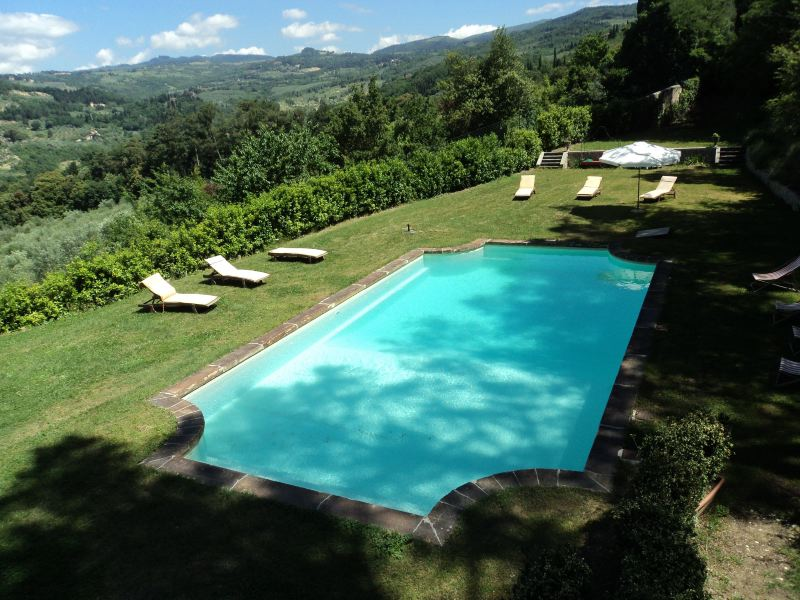 Villa Rentals in Fiesole : Florence & Tuscany - Italy: Il Leccino