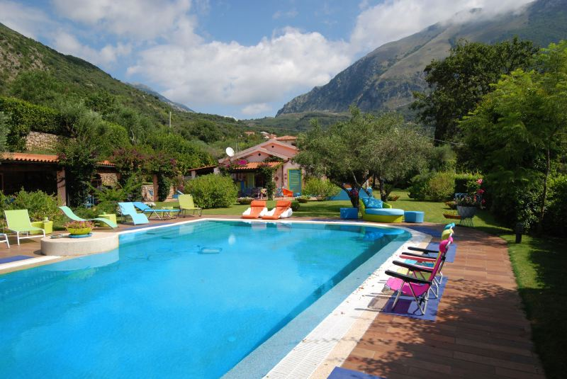 Villa Rentals in Maratea : Basilicata - Italy: Villa Allegra