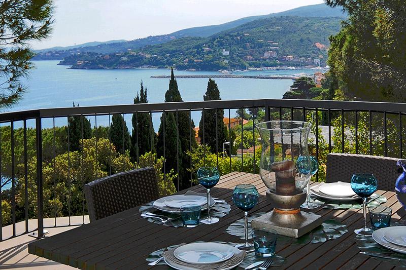 Villa Rentals in Porto S. Stefano: Florence & Tuscany - Italy: Villa Daphne
