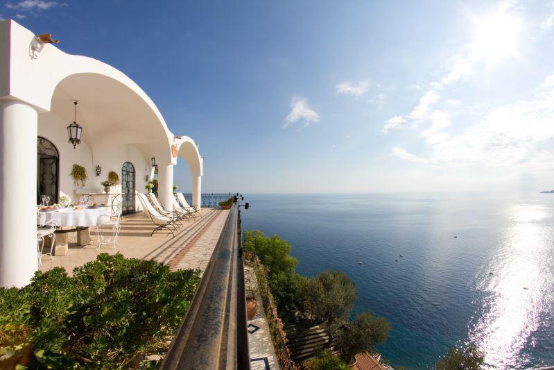 Villa Rentals in Positano: Amalfi Coast - Italy: Villa Omero