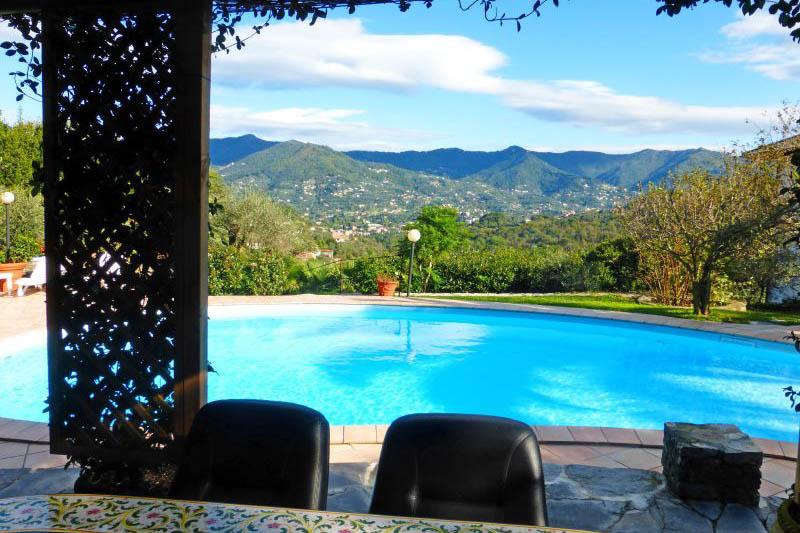 Villa Rentals in Rapallo : Liguria - Italy: Villa Renetta