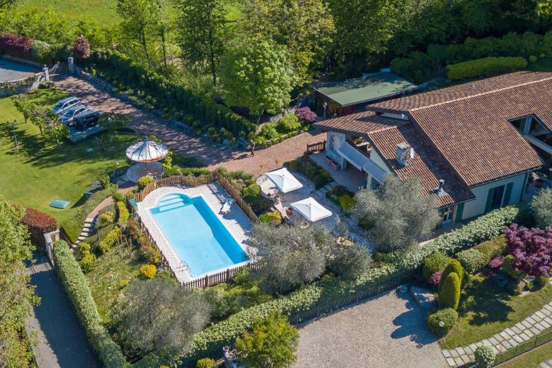 Villa Rentals in Besozzo : Lombardy - Italy: Villa Tanja